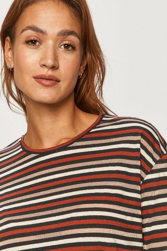 vícebarevná Pepe Jeans - Tričko s dlouhým rukávem Lexi