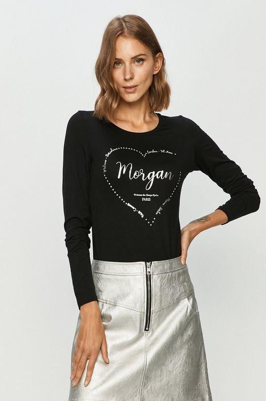 negru Morgan - Longsleeve De femei
