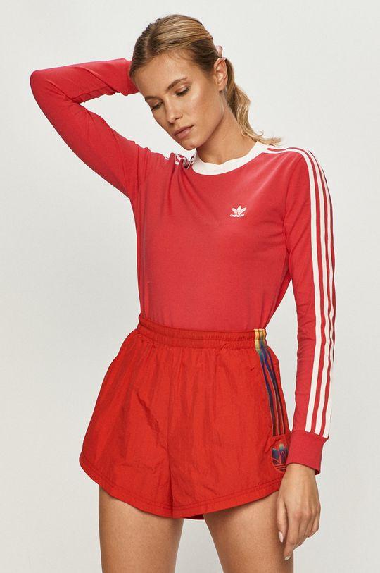 roz ascutit adidas Originals - Longsleeve De femei