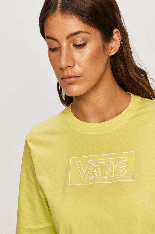 żółto - zielony Vans - Longsleeve