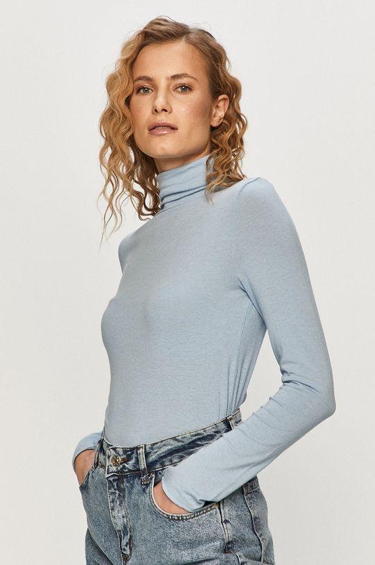modrá GAP - Tričko s dlhým rukávom Dámsky