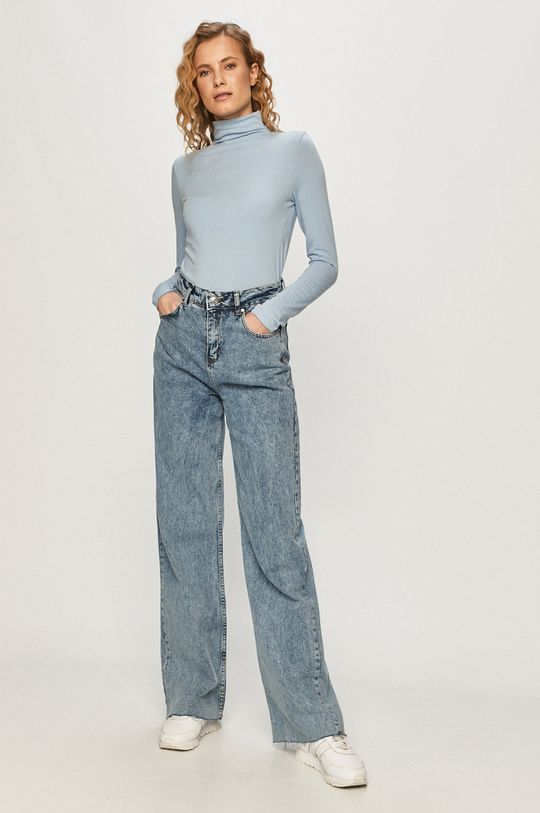 GAP - Tričko s dlhým rukávom modrá