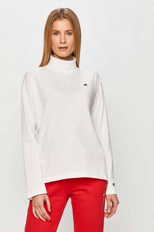 bílá Champion - Tričko s dlouhým rukávem Dámský