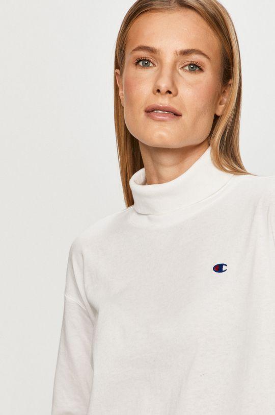 bílá Champion - Tričko s dlouhým rukávem