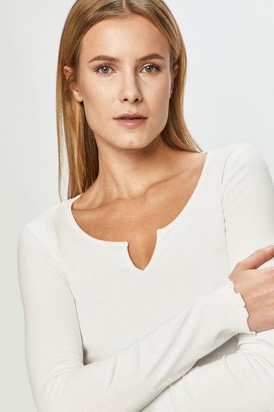 bílá Tally Weijl - Tričko s dlouhým rukávem Dámský
