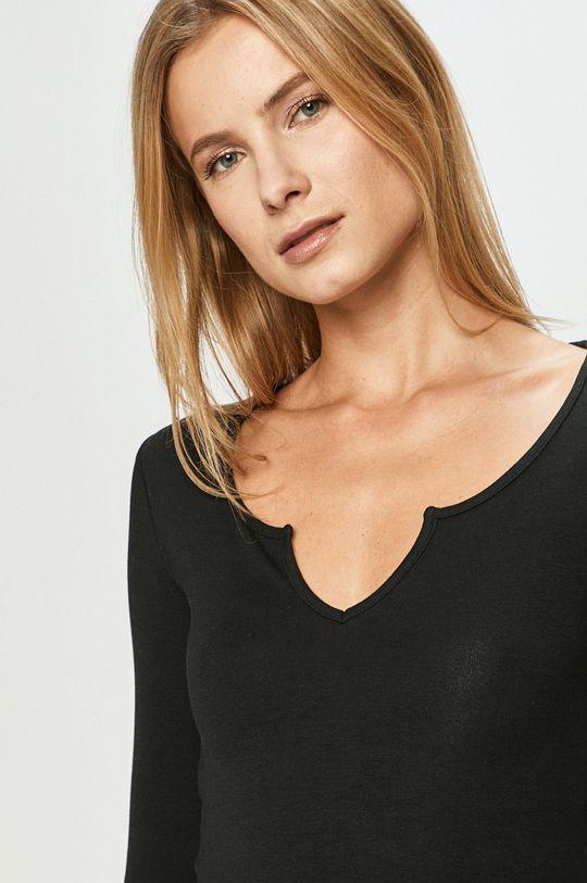 černá Tally Weijl - Tričko s dlouhým rukávem