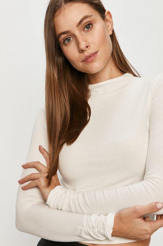 bílá Tally Weijl - Tričko s dlouhým rukávem