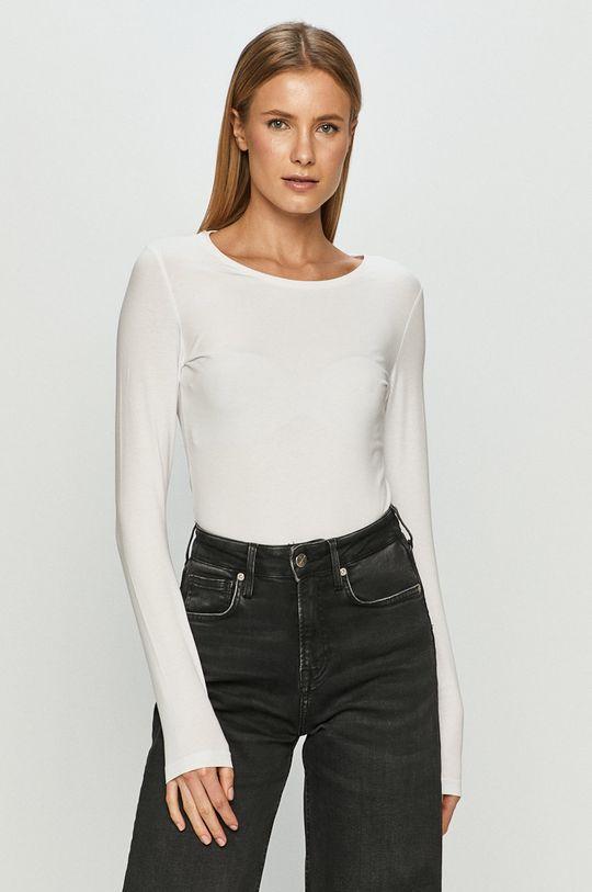 bílá 4F - Tričko s dlouhým rukávem Dámský
