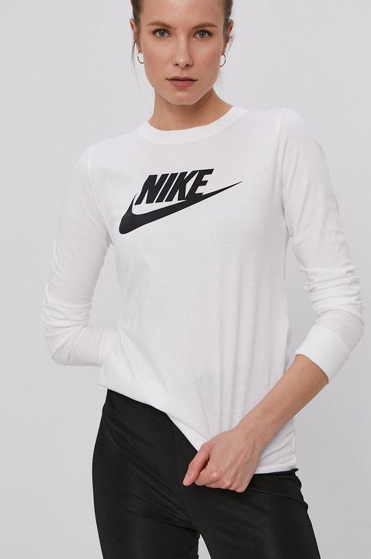 krémová Nike Sportswear - Tričko s dlhým rukávom