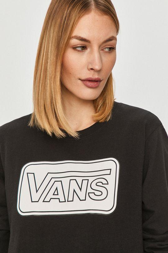 czarny Vans - Longsleeve