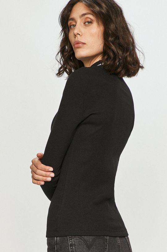 Calvin Klein Jeans - Tričko s dlhým rukávom  94% Bavlna, 6% Elastan