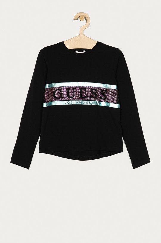 negru Guess Jeans - Longsleeve copii 116-176 cm De fete