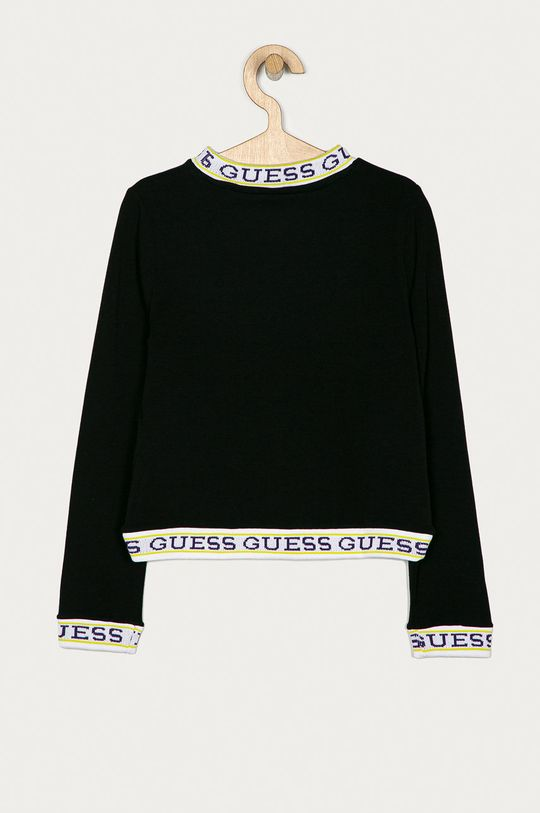 Guess Jeans - Longsleeve copii 140-175 cm negru