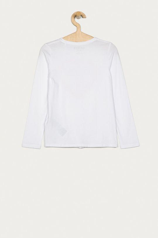 Guess Jeans - Longsleeve copii 116-175 cm alb