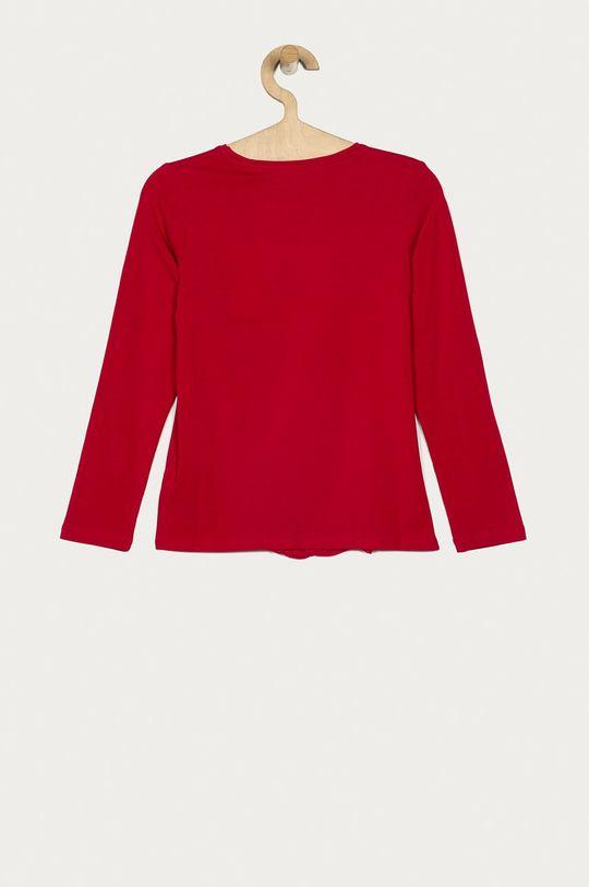 Guess Jeans - Longsleeve copii 116-175 cm roz ascutit
