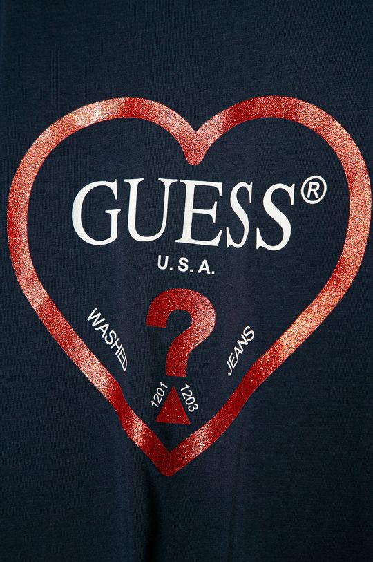 Guess Jeans - Longsleeve copii 116-175 cm  95% Bumbac, 5% Elastan
