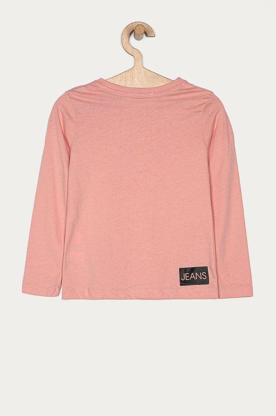 Calvin Klein Jeans - Longsleeve copii 104-176 cm roz