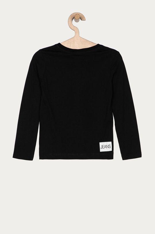 Calvin Klein Jeans - Longsleeve copii 104-176 cm negru