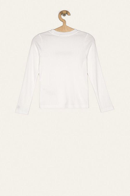 Calvin Klein Jeans - Longsleeve dziecięcy 128-176 cm biały