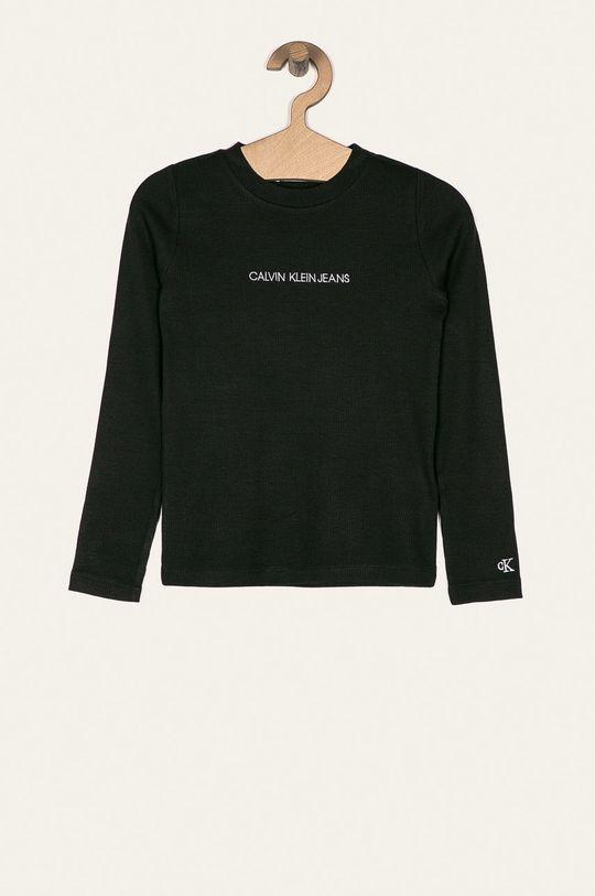 černá Calvin Klein Jeans - Dětské tričko s dlouhým rukávem 128-176 cm Dívčí