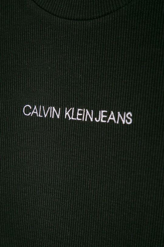 Calvin Klein Jeans - Dětské tričko s dlouhým rukávem 128-176 cm  7% Elastan, 93% Viskóza