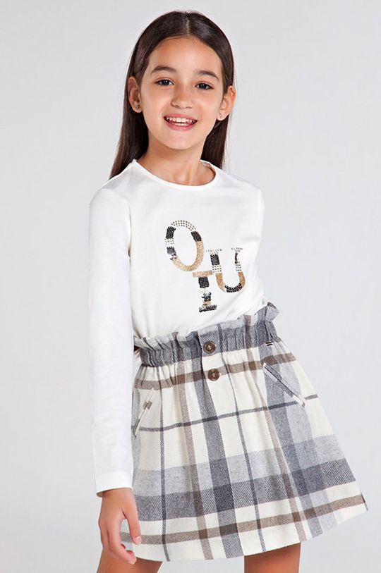 krémová Mayoral - Detské tričko s dlhým rukávom 128-167 cm Dievčenský