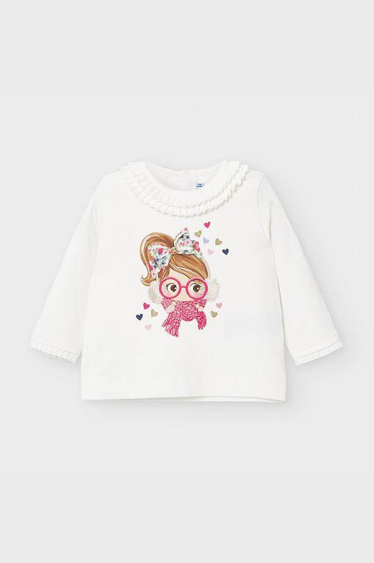 білий Mayoral - Дитячий лонгслів 68-98 cm Для дівчаток