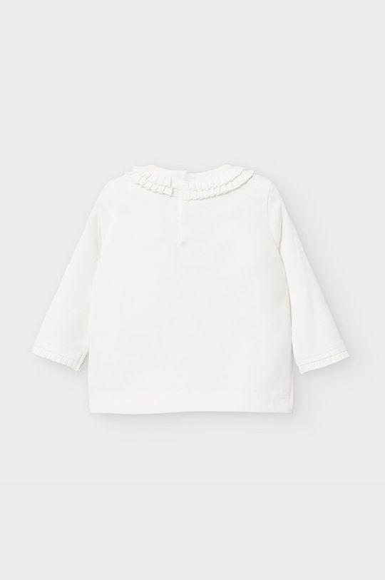 Mayoral - Дитячий лонгслів 68-98 cm білий