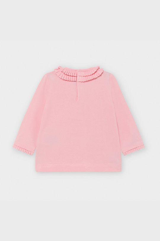 Mayoral - Дитячий лонгслів 68-98 cm рожевий