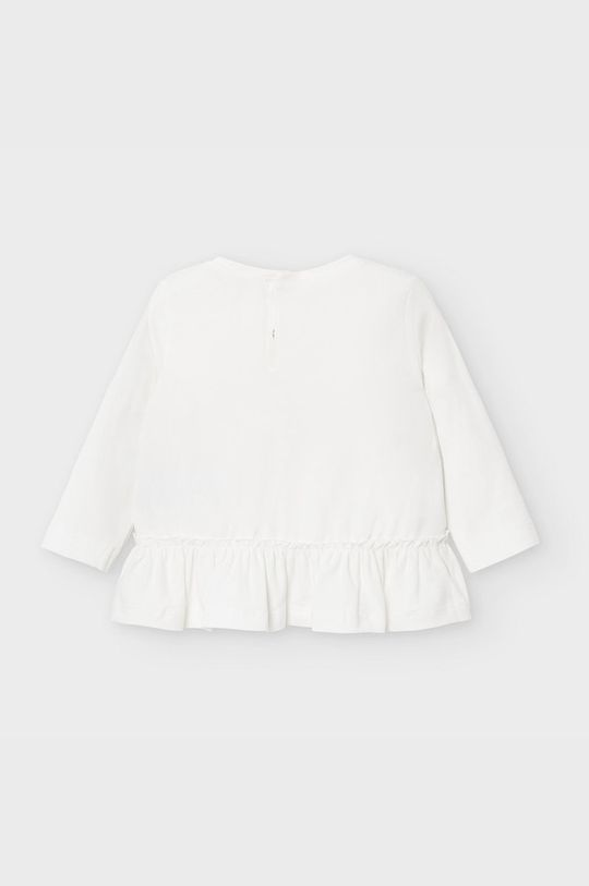 Mayoral - Detské tričko s dlhým rukávom 68-98 cm krémová