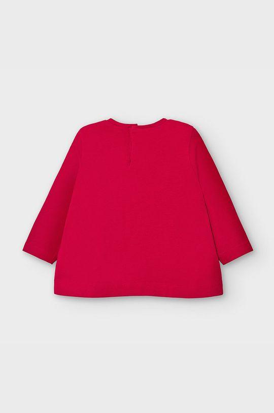 Mayoral - Detské tričko s dlhým rukávom 68-98 cm červená