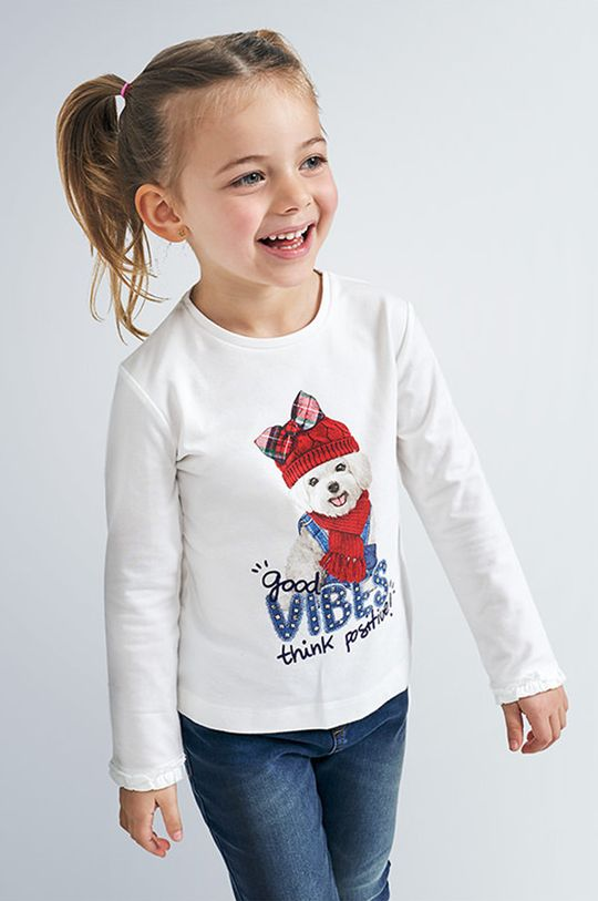 červená Mayoral - Detské tričko s dlhým rukávom 92-134 cm Dievčenský