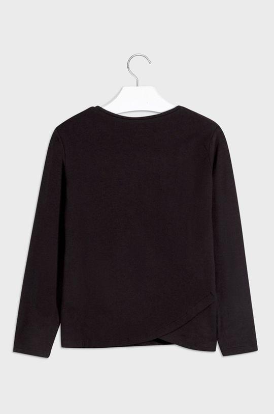 Mayoral - Dětské tričko s dlouhým rukávem 128-167 cm černá