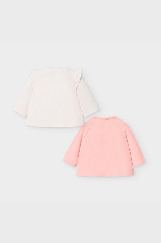 Mayoral Newborn - Detské tričko s dlhým rukávom 60-86 cm (2-pak) staroružová