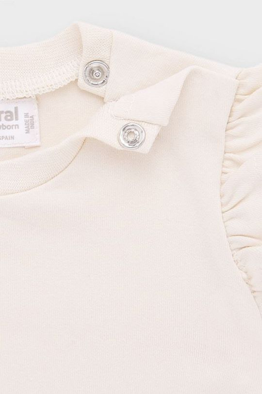 Mayoral Newborn - Detské tričko s dlhým rukávom 60-86 cm (2-pak)  95% Bavlna, 5% Elastan