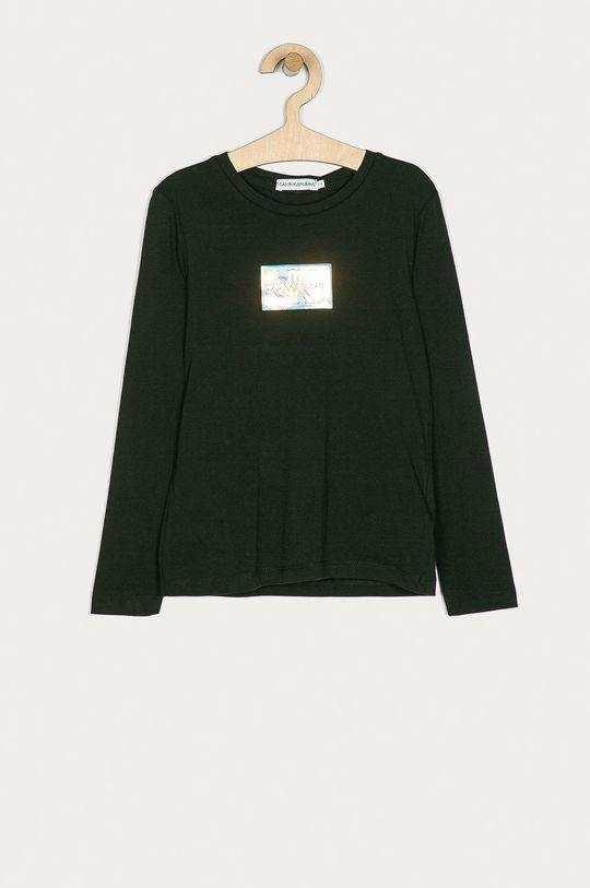 negru Calvin Klein Jeans - Longsleeve copii 128-176 cm De fete