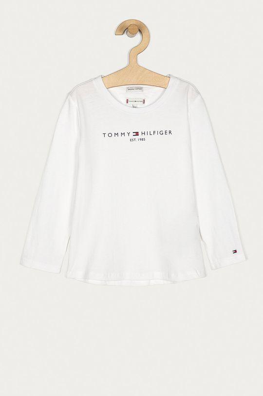 bílá Tommy Hilfiger - Dětské tričko s dlouhým rukávem 128-176 cm Dívčí
