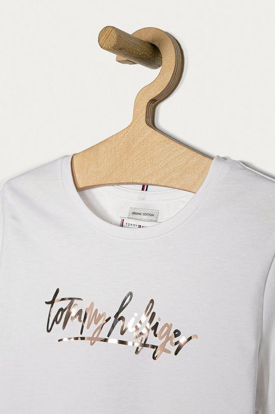 Tommy Hilfiger - Tričko s dlouhým rukávem  100% Bavlna