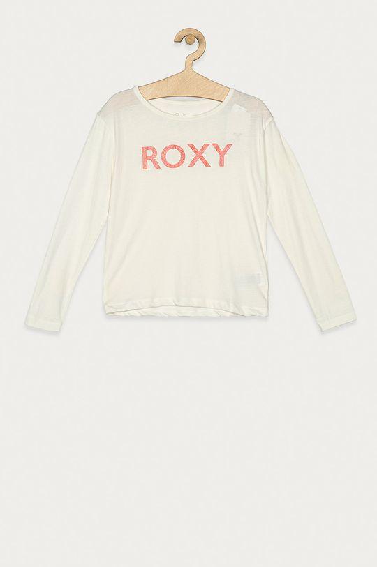 alb Roxy - Longsleeve copii 104-176 cm De fete