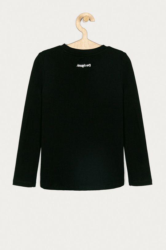 Desigual - Dětské tričko s dlouhým rukávem 104-164 cm černá