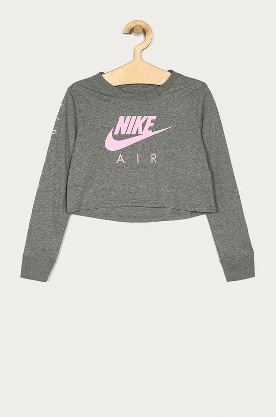 gri Nike Kids - Longsleeve copii 122-166 cm De fete