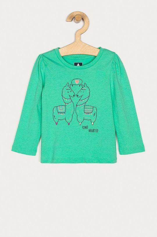 zelená GAP - Detské tričko s dlhým rukávom 74-110 cm Dievčenský