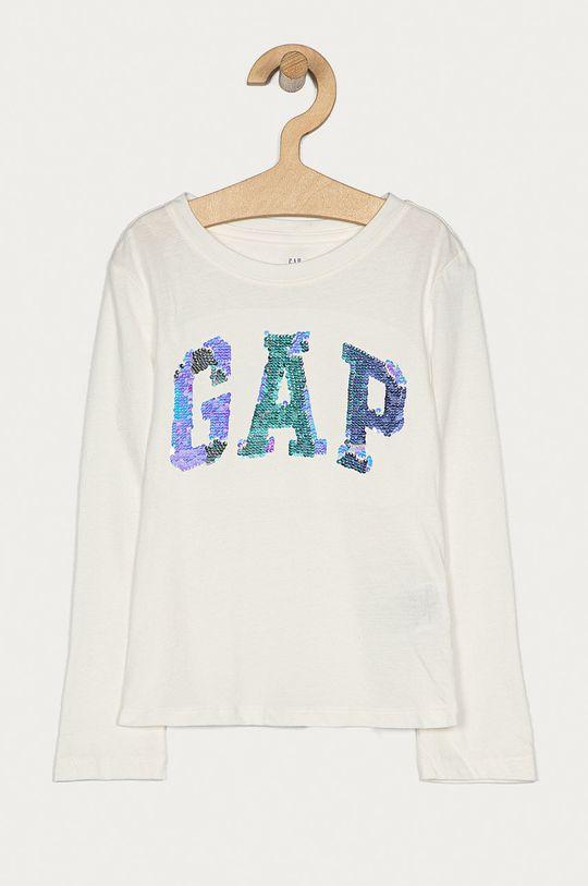 biały GAP - Longsleeve dziecięcy 104-176 cm Dziewczęcy
