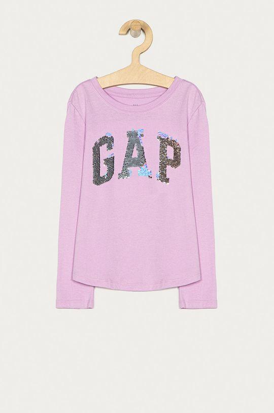 purpurová GAP - Dětské tričko s dlouhým rukávem 104-176 cm Dívčí