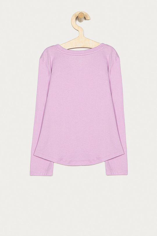 GAP - Dětské tričko s dlouhým rukávem 104-176 cm purpurová