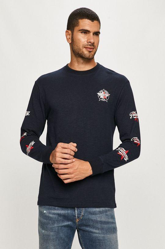 Tommy Jeans - Tričko s dlhým rukávom  100% Bavlna