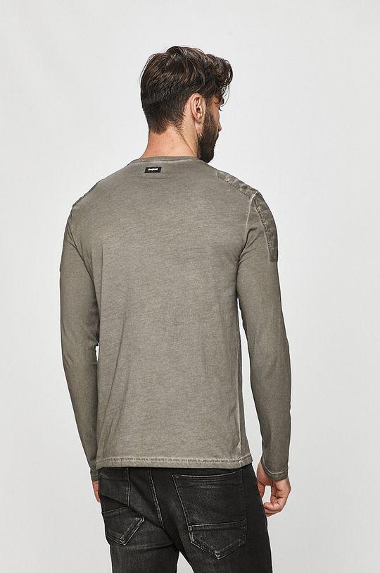 Desigual - Tričko s dlouhým rukávem  100% Bavlna Pokyny k praní a údržbě:  prát v pračce při teplotě 30 stupňů, nebělit, žehlit na nízkou teplotu
