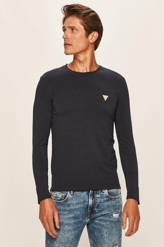 bleumarin Guess Jeans - Longsleeve De bărbați