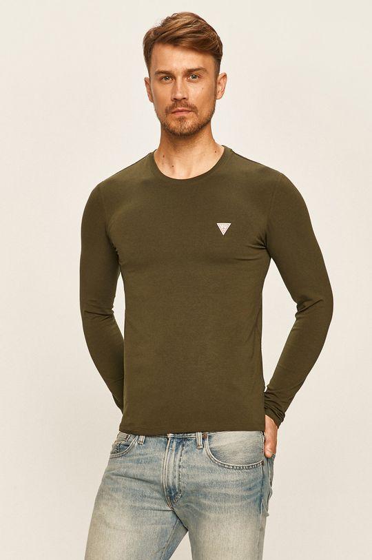 militar Guess Jeans - Longsleeve De bărbați