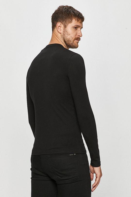 Guess Jeans - Tričko s dlouhým rukávem  95% Bavlna, 5% Elastan